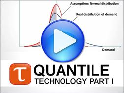 Video Part 1 of the Quantile Forecasting Technology