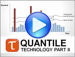 Video Part 2 of the Quantile Forecasting Technology