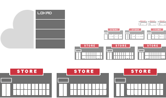retail networks stores in inventory optimization software