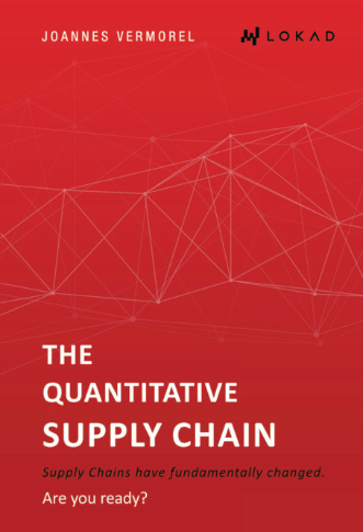 The cover the book: The Quantitative Supply Chain, by Joannes Vermorel, Lokad